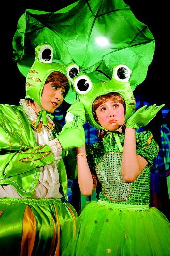 """放暑假了 来看快乐的""""青蛙王子""""吧"""