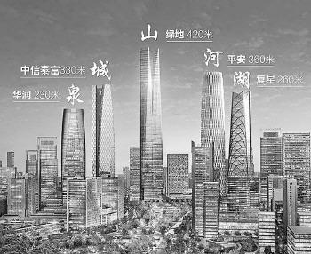 """济南中央商务区启动""""百日会战"""",明年春季"""