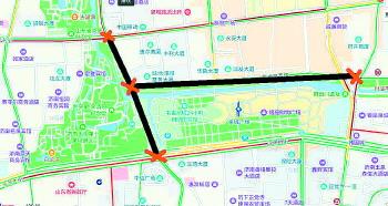 济南趵突泉周边3条路夜间将弹性管制
