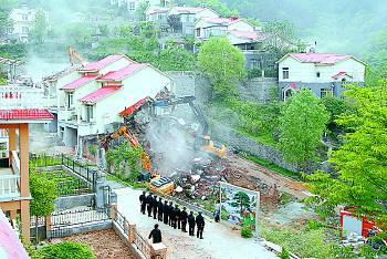 济南南部山区将进行违建别墅调查摸底 今年已累计拆除违建368处